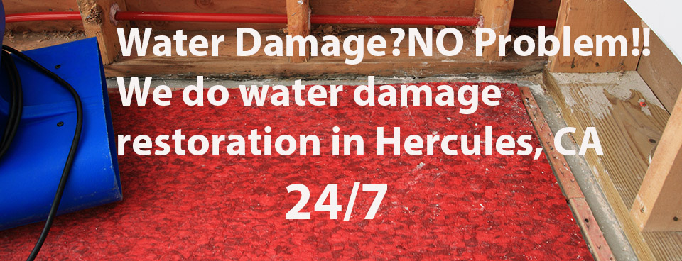 Hercules-ca-water-damage